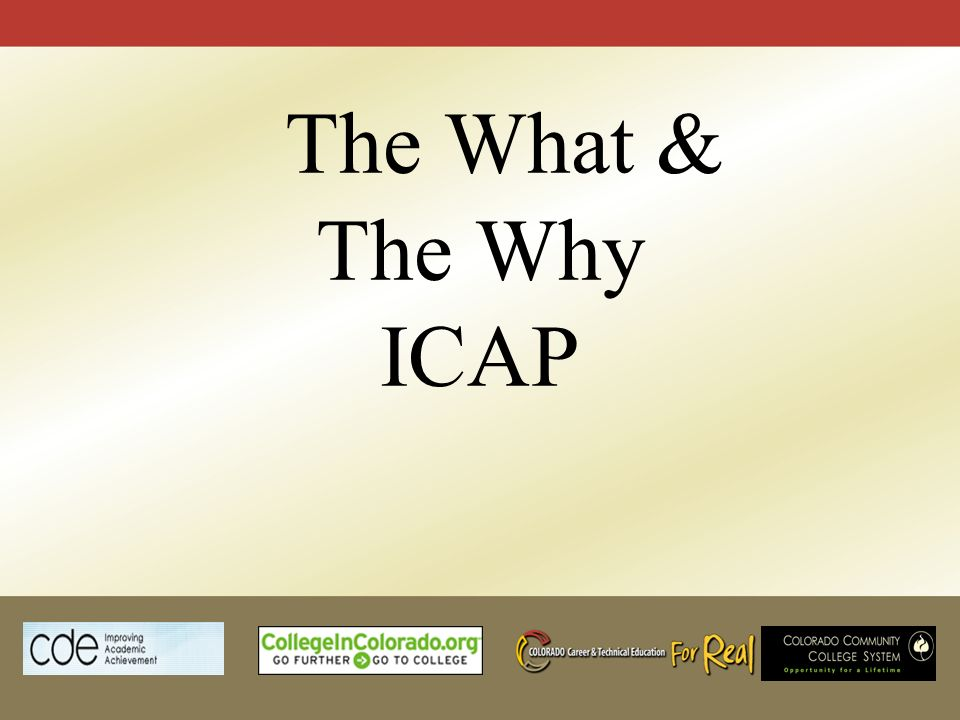Individual Career And Academic Plan ICAP Why Is It What Does