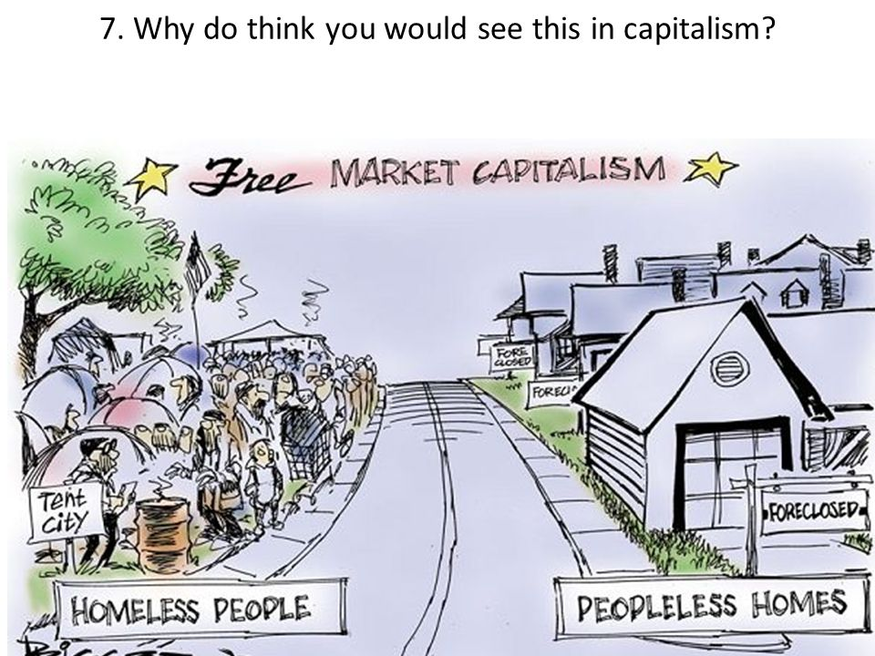 7. Why do think you would see this in capitalism