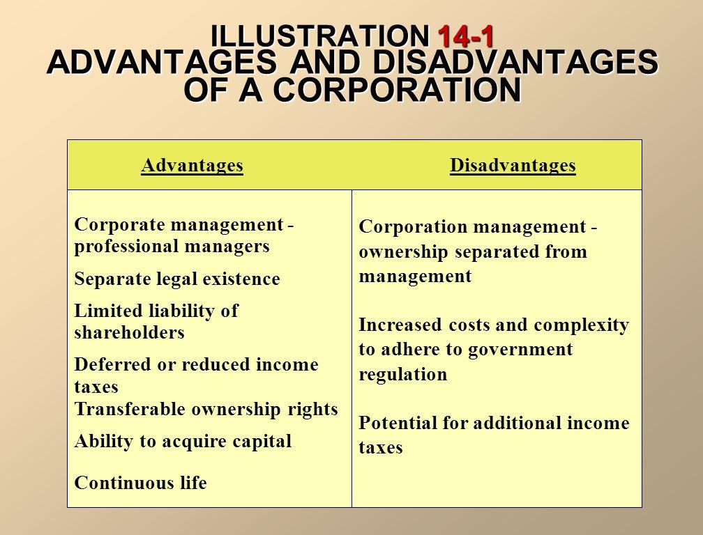 advantages of shareholders