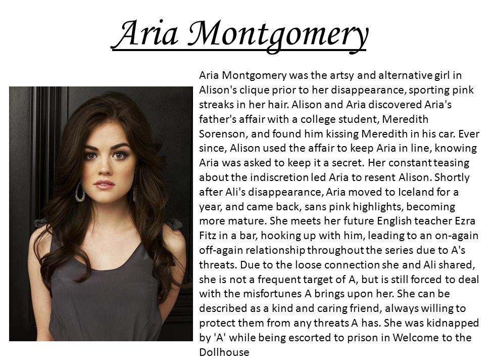 aria montgomery personality