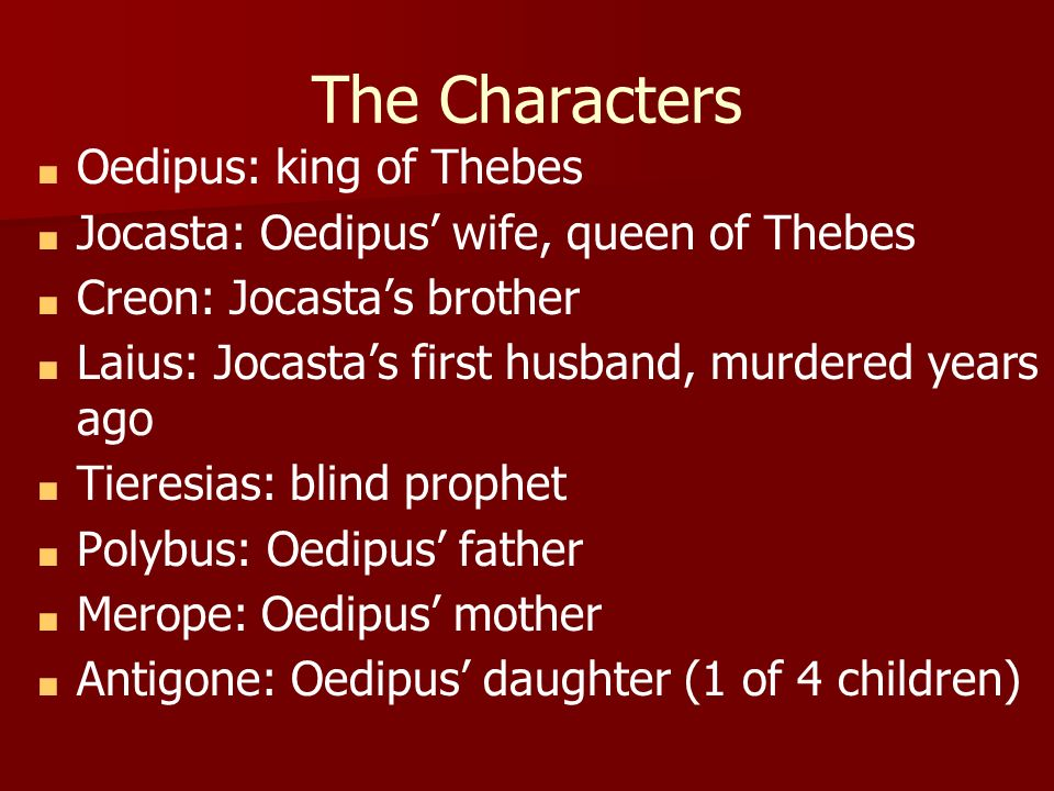 compare and contrast oedipus and creon Creon vs creon in oedipus the king, sophocles, the author, describes the journey of a man by the name of oedipus to doom himself and those around him by trying to avoid fate.