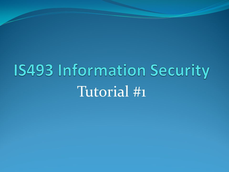 Tutorial #1  Lab#: 1 Securing your system Lab 1 2: Tenable