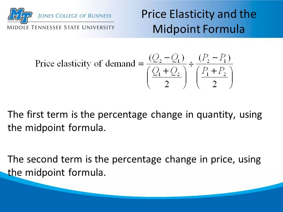 Elasticity The Responsiveness Of Demand And Supply Ppt Download