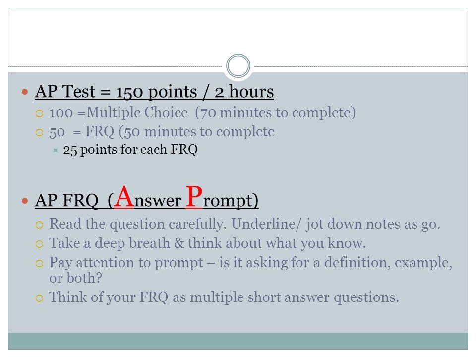 ap psychology frq by topic