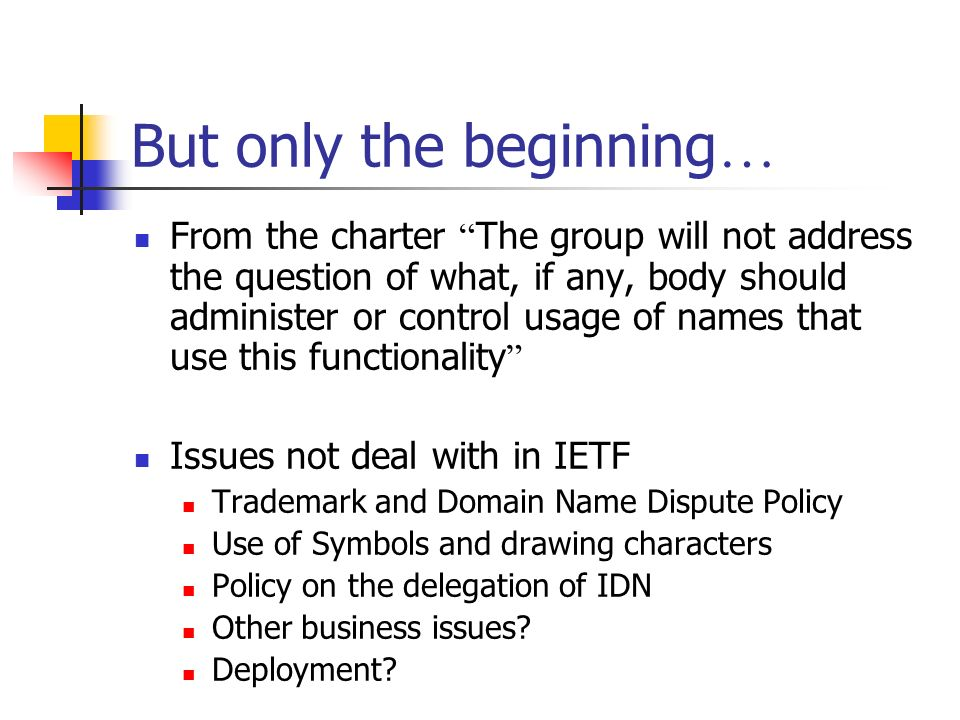 Internationalization Of Domain Names Multilingual Domain Names