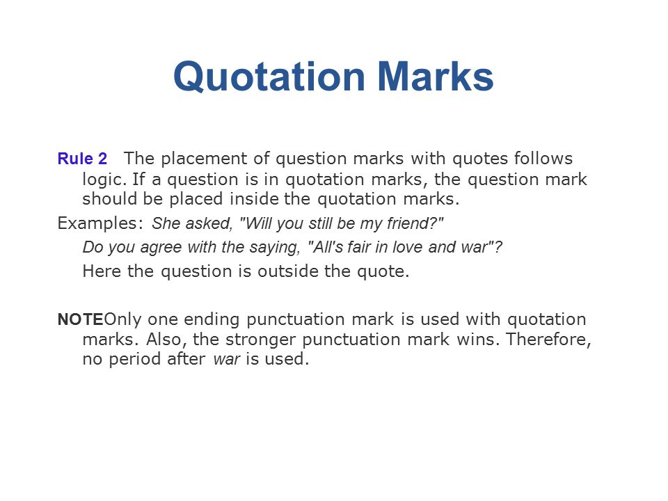 Capitalization Punctuation Rules Capitalization Rules Rule 1