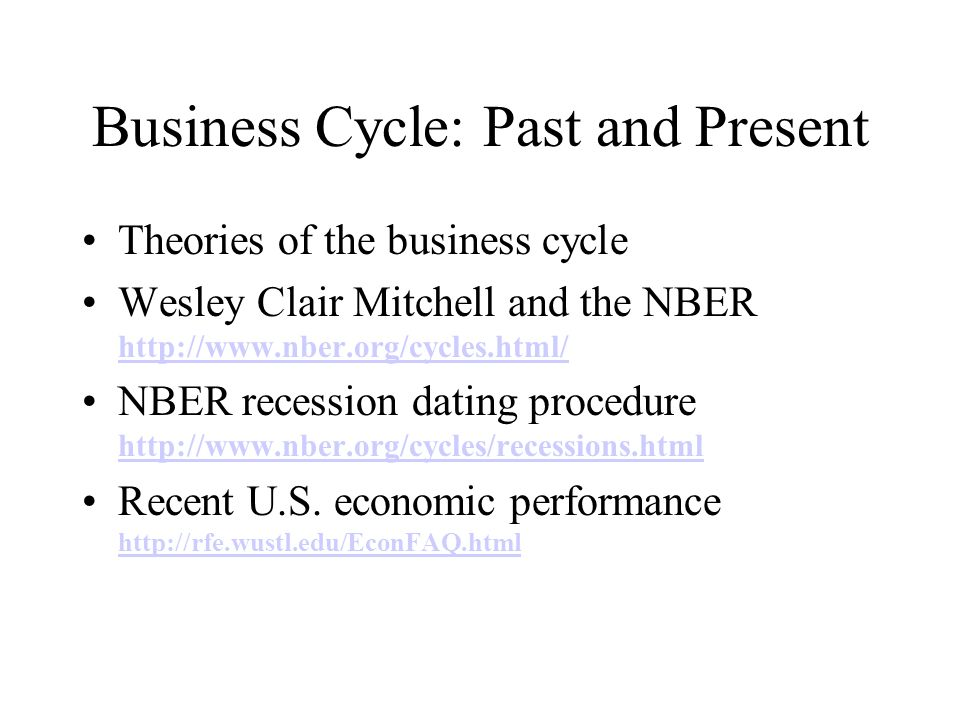 theories of business forecasting