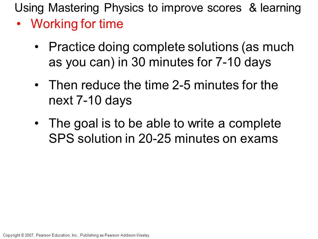 pearson mastering physics answer key