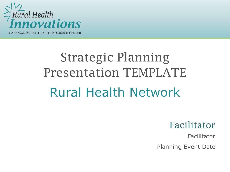 strategic planning presentation template facilitator planning event, Strategic Planning Presentation Template, Presentation templates