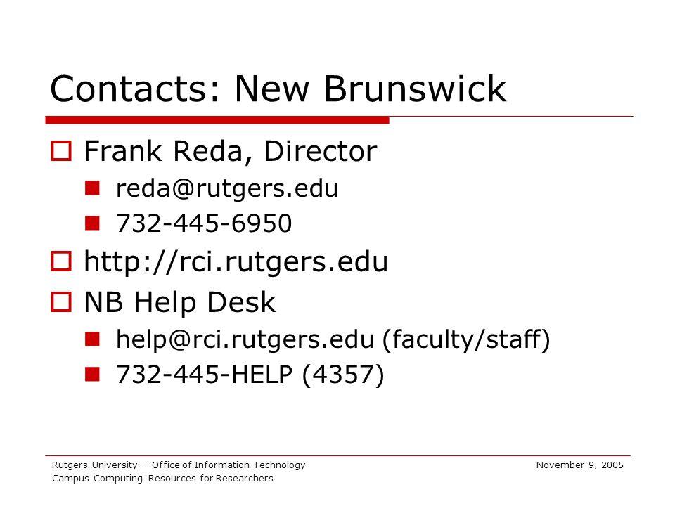 16 Rutgers University ...