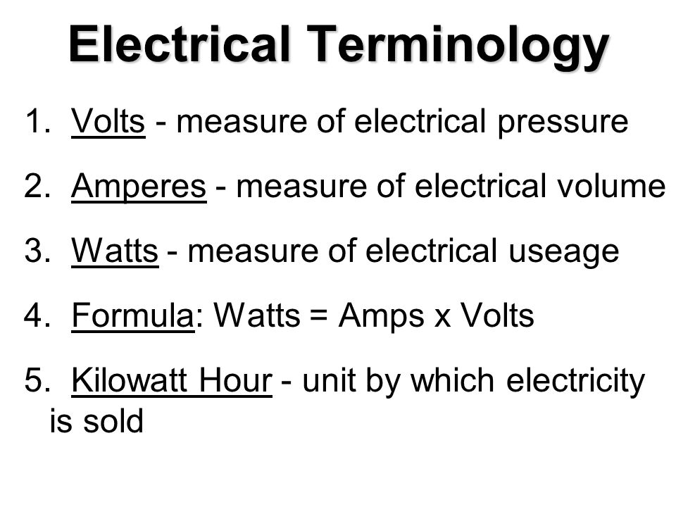 Ag. Mechanics Becoming Familiar with Electricity Enterprise: Ag. Mechanics  Job: Becoming Familiar with Electricity. - ppt download