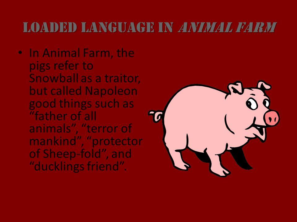 manipulation in animal farm