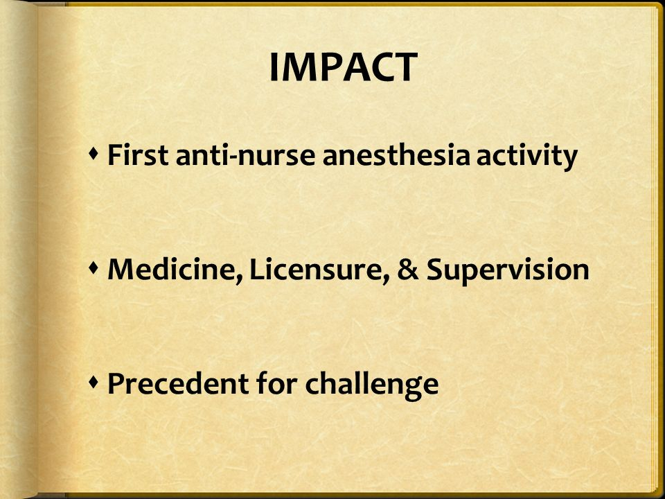 watchful care a history of nurse anesthesia