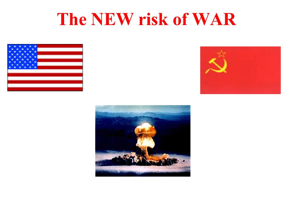 The NEW risk of WAR