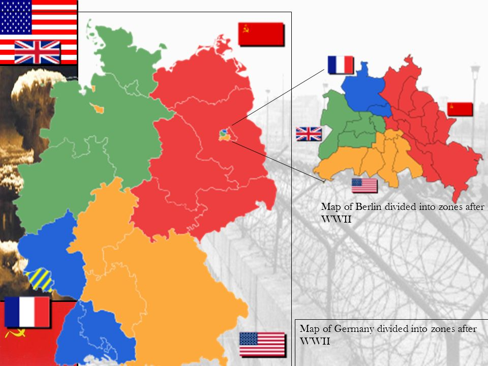 Map Of Germany Post Ww2.Cold War Origins Relations Between The Soviet Union And U S Broke