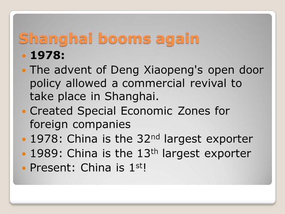 Shanghai Shanghai A Brief History Shanghai Doesn T Have The Long