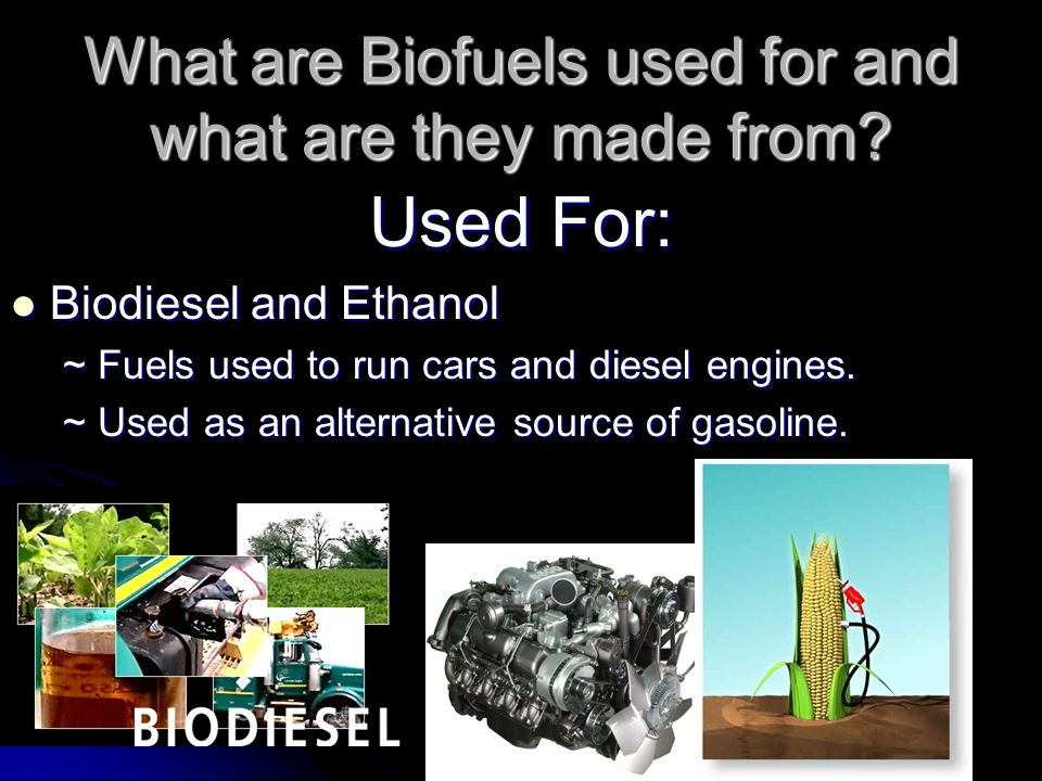 biofuel ethanol alternative to transportation essay Biodiesel is the only alternative fuel to have fully completed the health effects testing requirements of the 1990 clean air act amendments biodiesel that meets astm d6751 and is legally registered with the environmental protection agency is a legal motor fuel for sale and distribution.