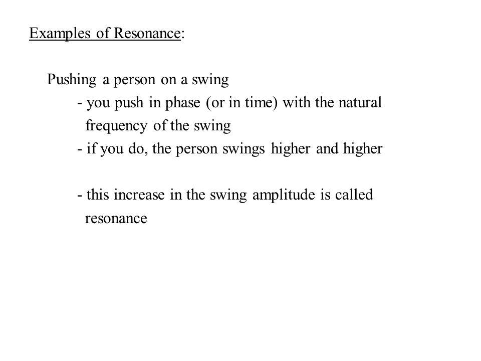 Phys 20 Lessons Unit 6 Simple Harmonic Motion Mechanical Waves