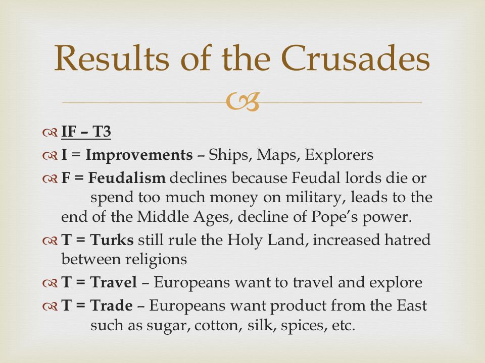 The Western Crusades