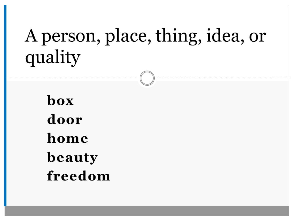 box door home beauty freedom A person, place, thing, idea, or quality