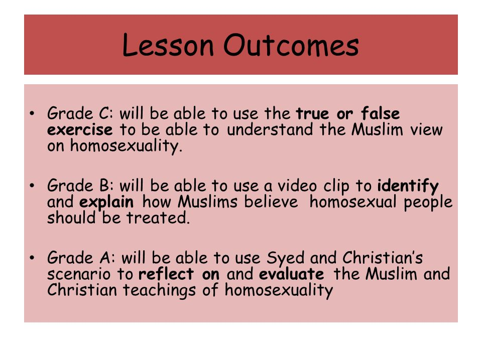 Quran teachings on homosexuality