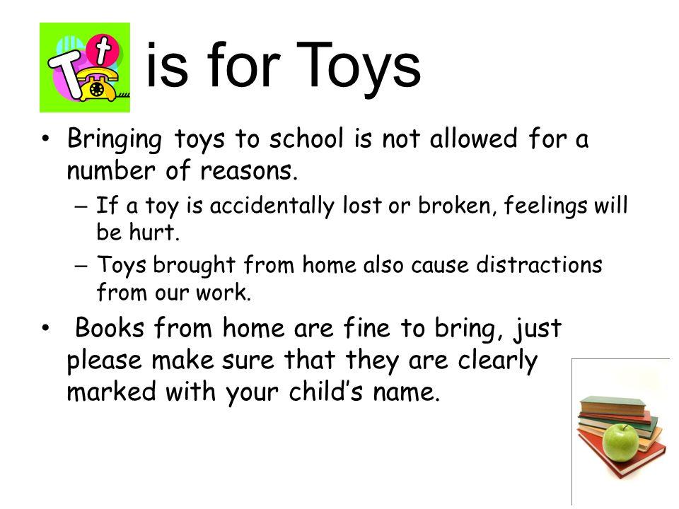 The ABC's of Kindergarten  is for Attendance School Hours-9