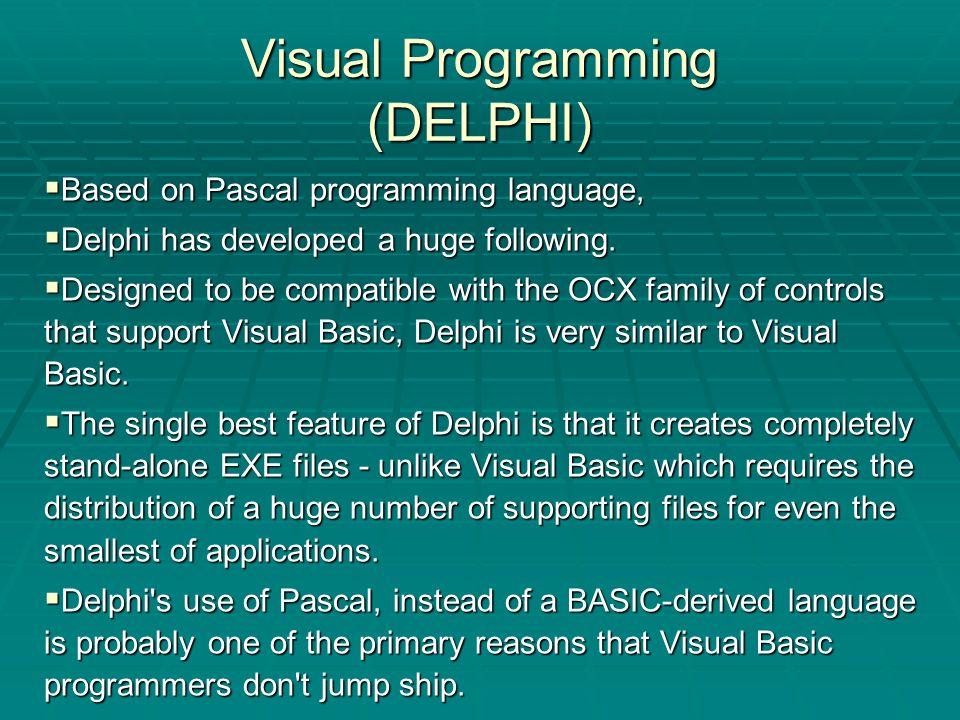 Programming Languages compiled By Ergin TARI  Programming Language