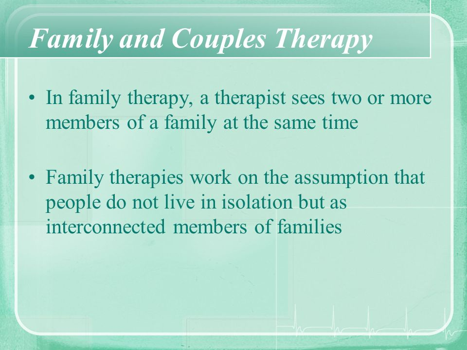 Psychological Treatment Mental Health Professionals Clinical And