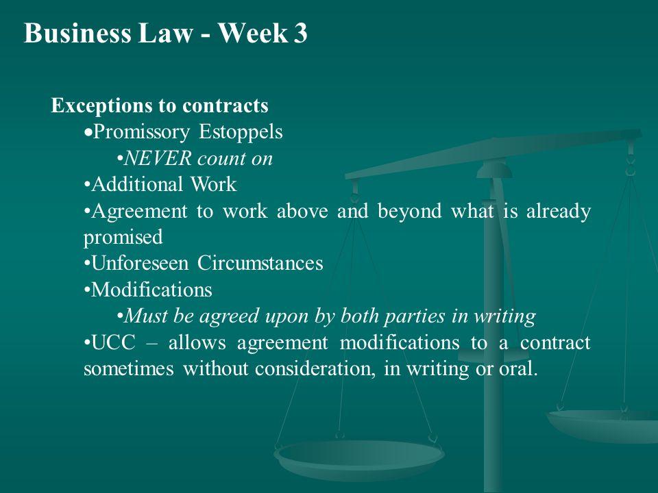 Business Law Week 3 Class Agenda Other Information Good Samaritan