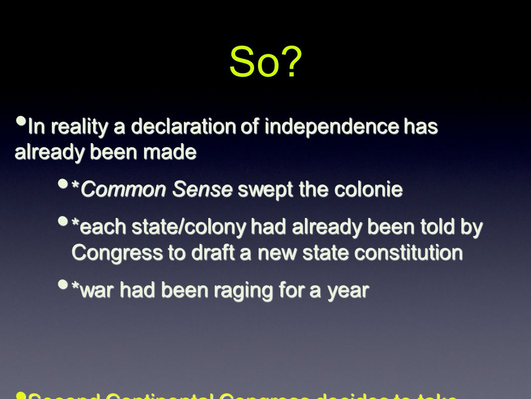 comparing the similarities and differences between the declaration of independence and the crisis The united states declaration of independence is the statement adopted by the second continental congress meeting at the pennsylvania state house (now known as independence hall.
