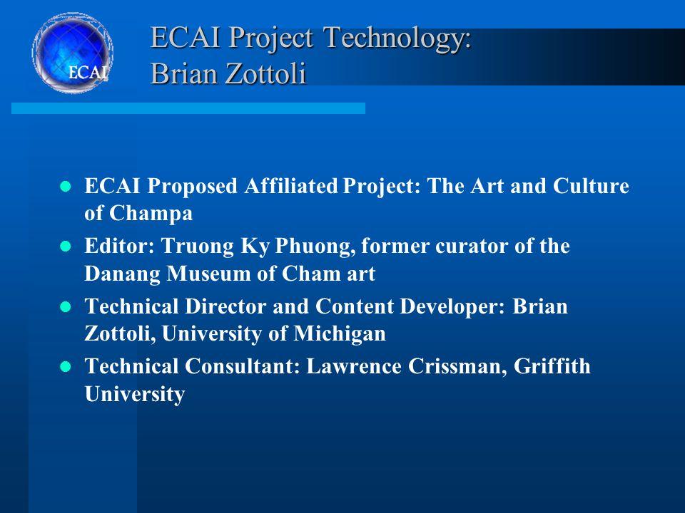 The Electronic Cultural Atlas Initiative (ECAI) University of