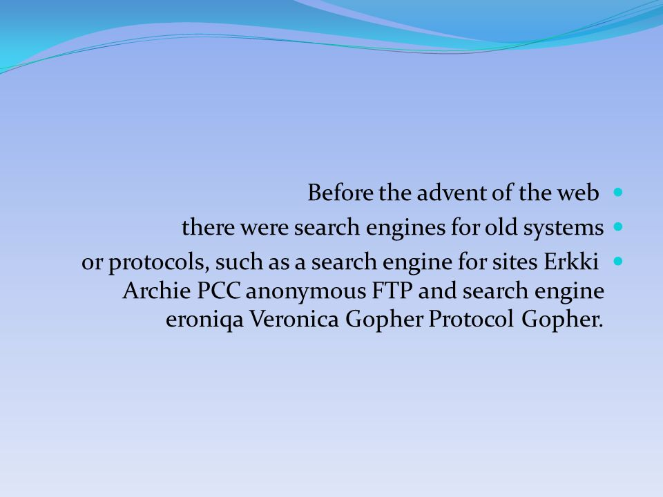 Student name: ahmed abudayya  Before the advent of the web there