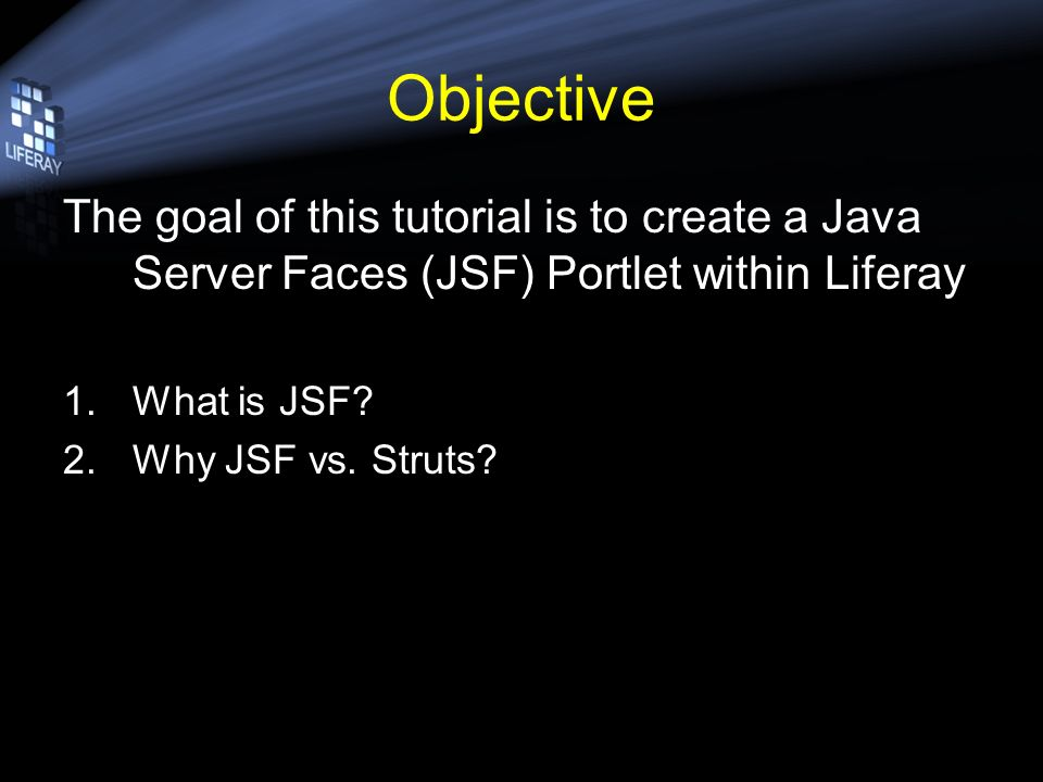 JSF Introduction Copyright © Liferay, Inc  All Rights