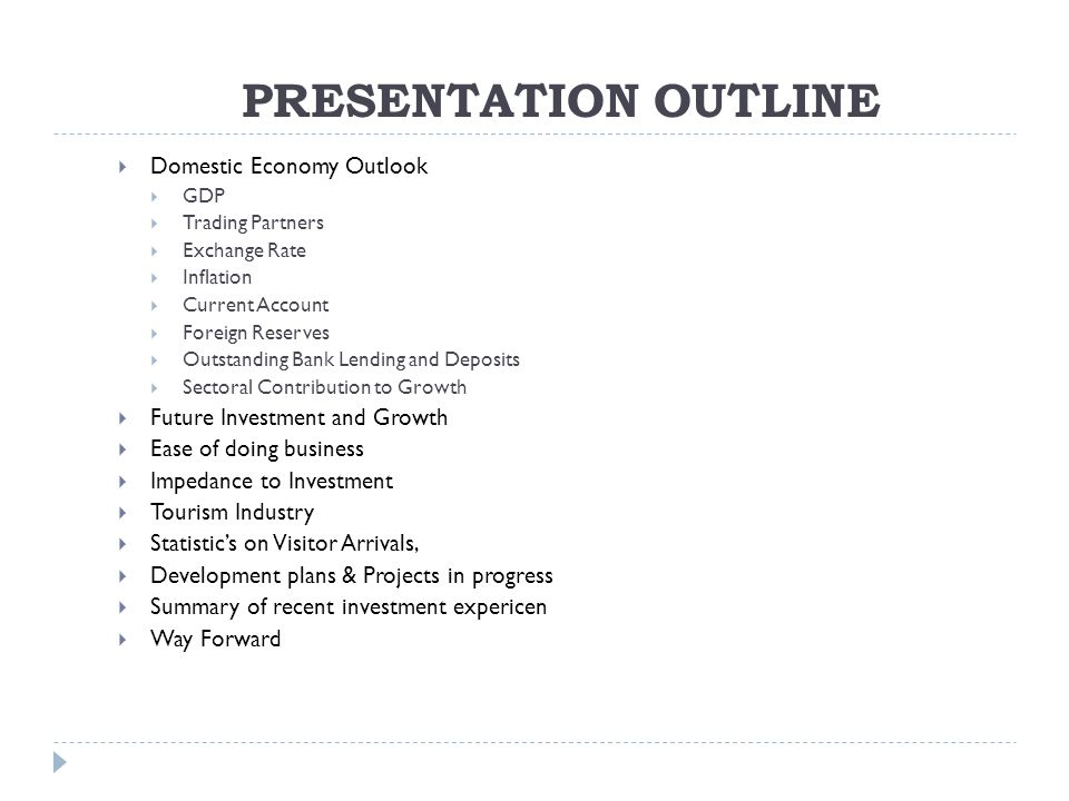 Powerpoint: from outline to presentation.