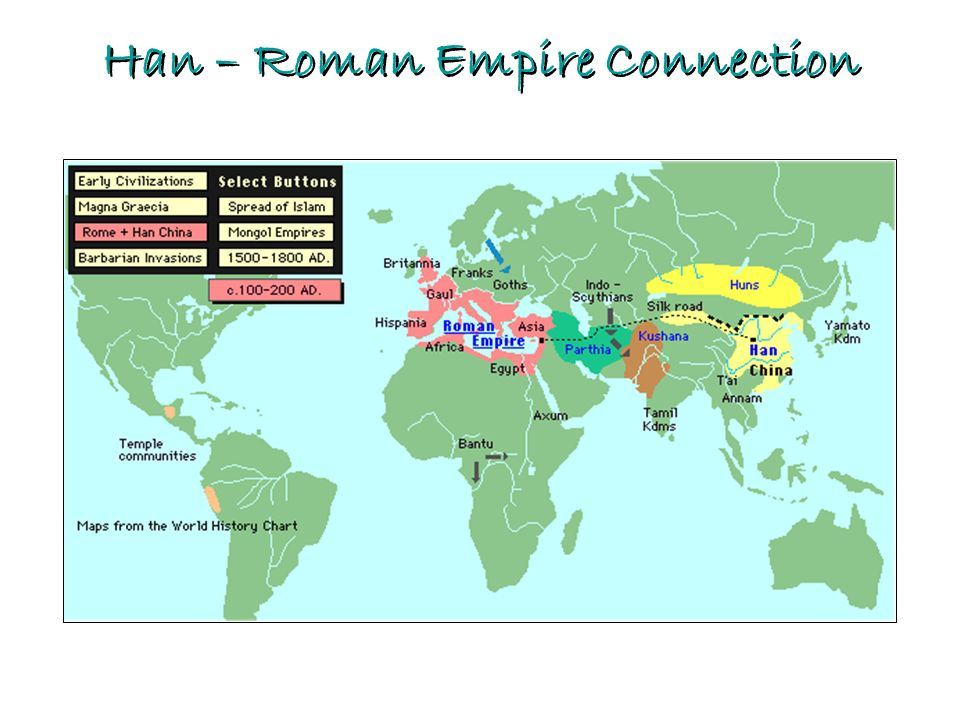 Han – Roman Empire Connection