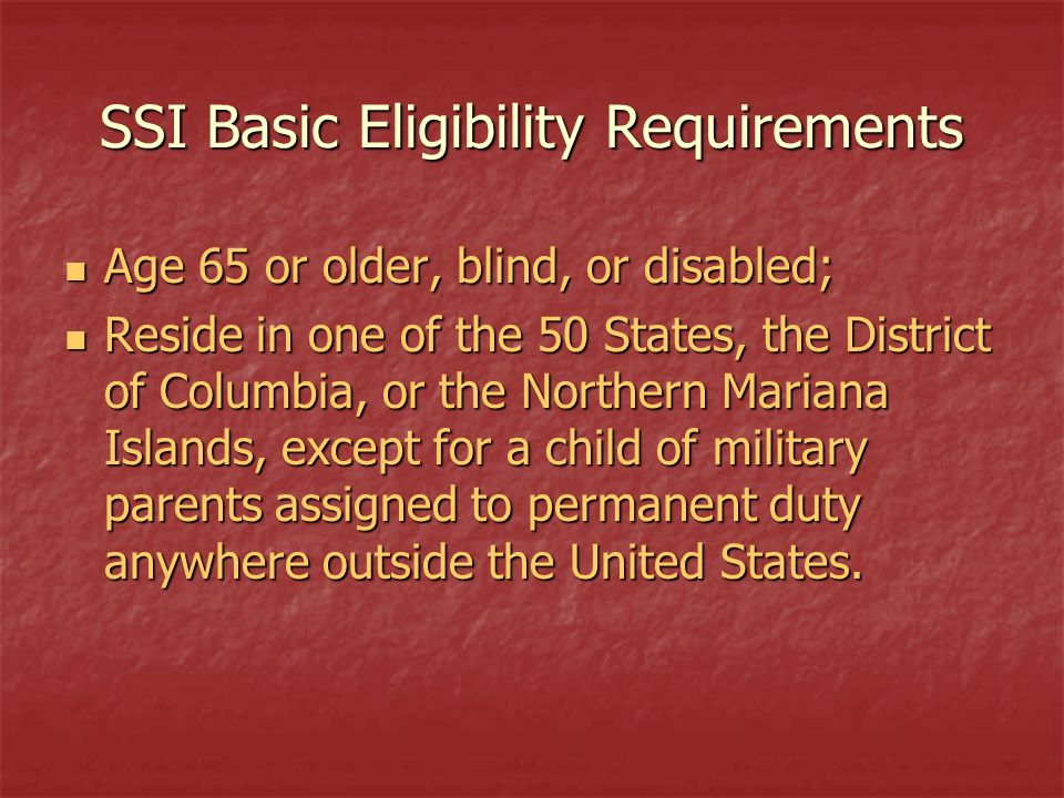 Social Security & SSI Benefits for Children  The Social