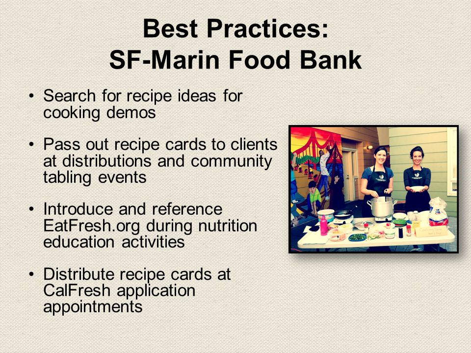 Tasty recipes on your budget nutrition education and cooking 10 best practices sf marin food bank search for recipe ideas forumfinder Gallery