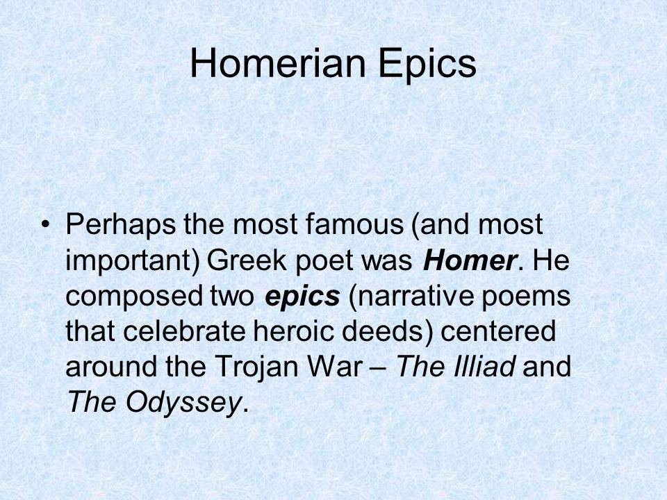 famous greek poems