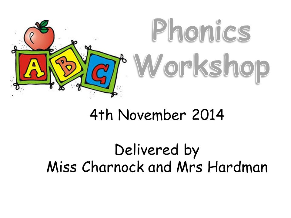 4th November 2014 Delivered by Miss Charnock and Mrs Hardman