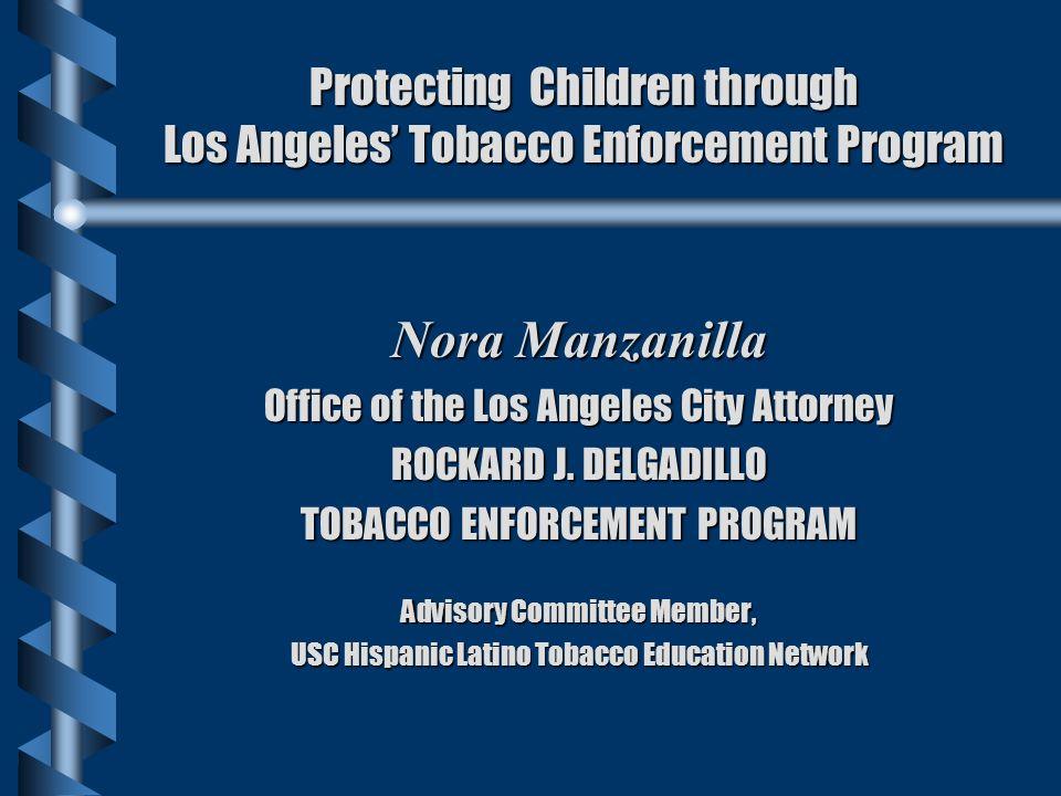 Protecting Children through Los Angeles' Tobacco Enforcement