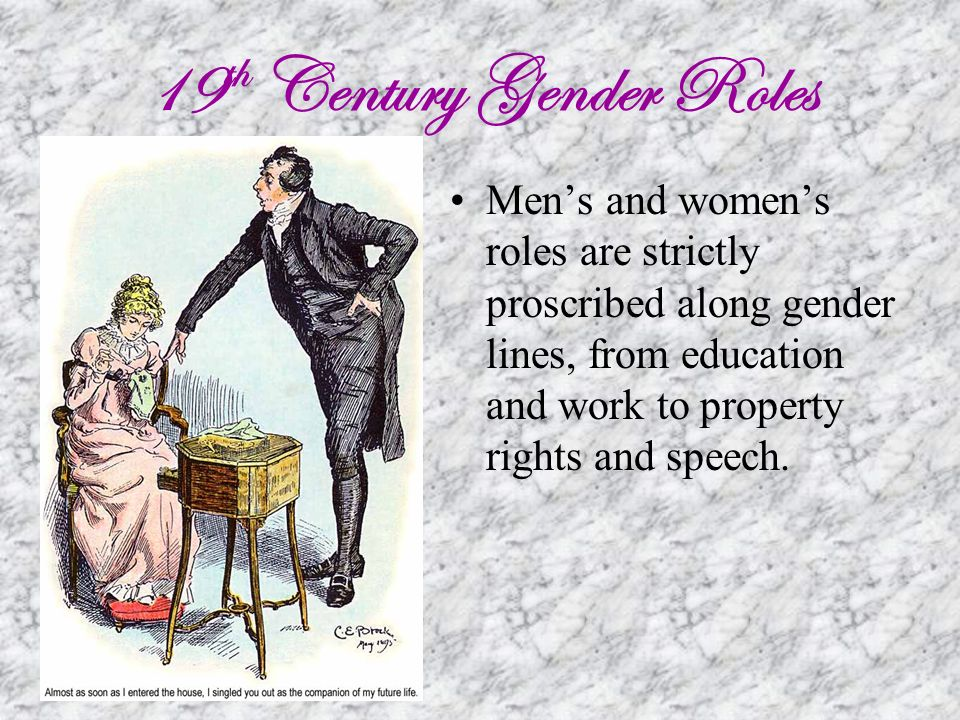 pride and prejudice gender roles