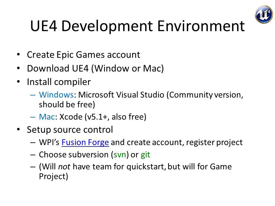 create epic games account