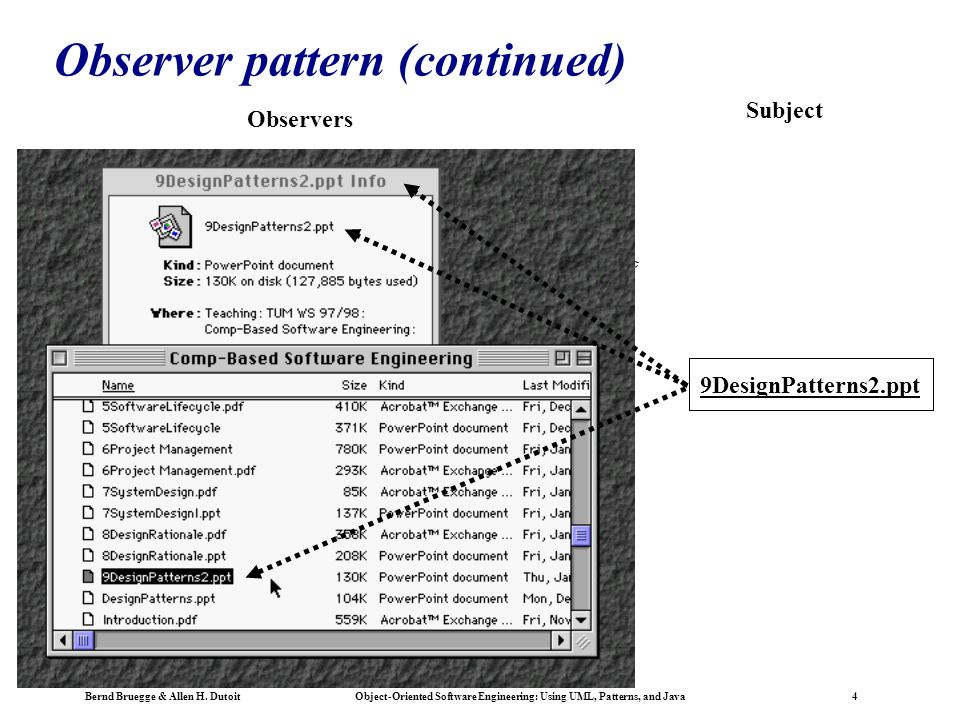 Using Uml Patterns And Java Object Oriented Software Engineering Chapter 8 Object Design Reuse And Patterns Iii Ppt Download