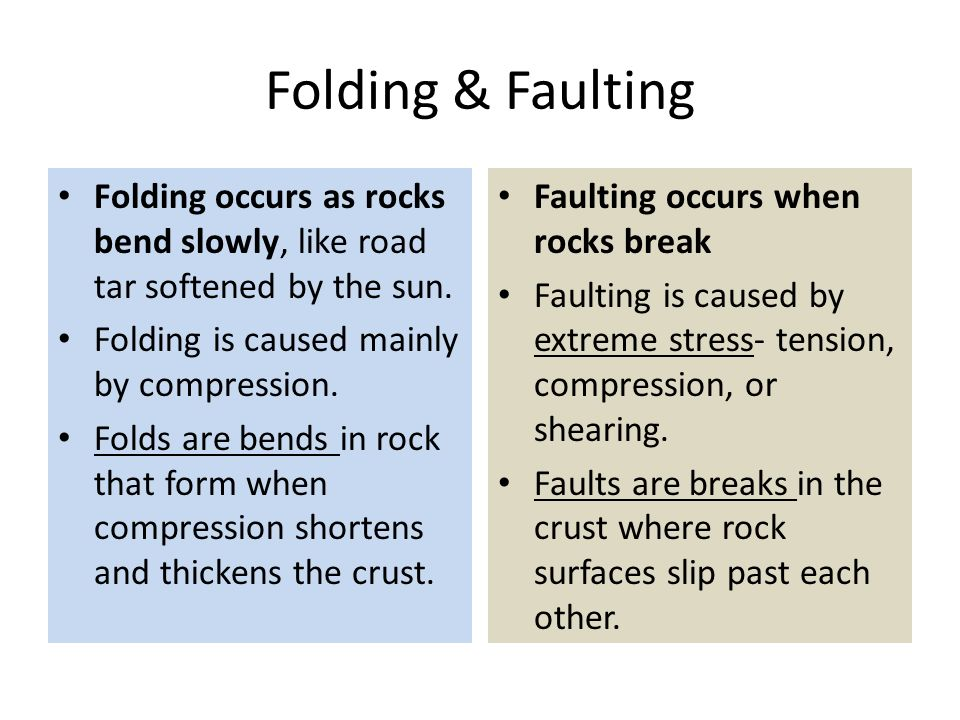 forces in earth s crust chapter 5 section 4 grade 8 science ppt