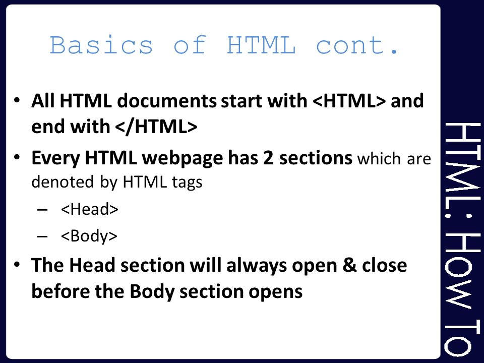 basic html powerpoint how hyper text markup language works ppt
