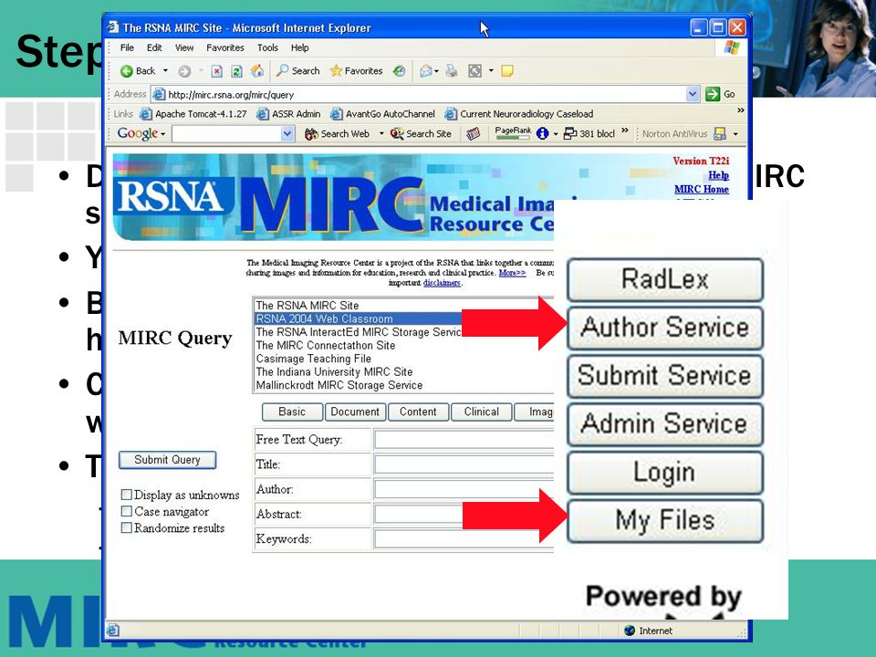 How To Author MIRC Teaching Files Sunday Hands On Workshop AE