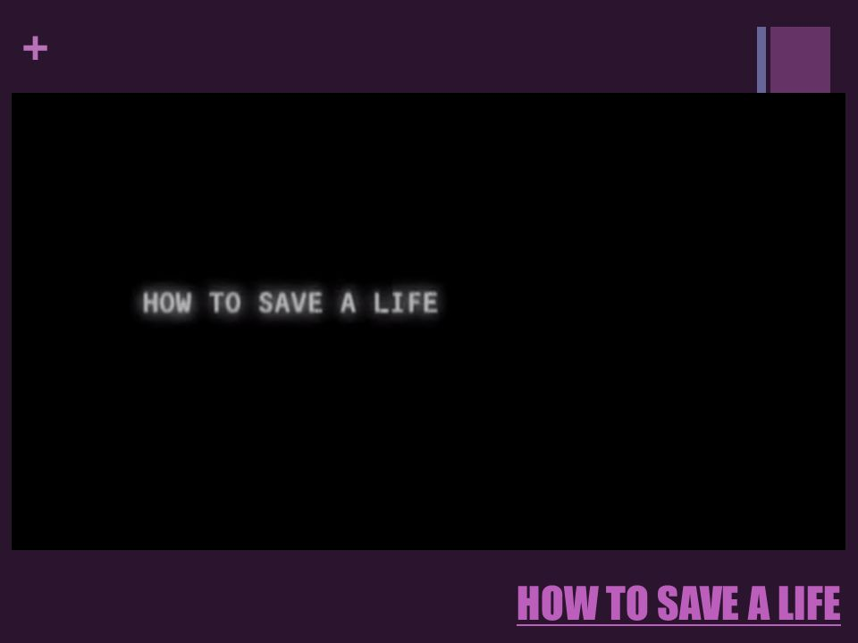 how to save a life analysis
