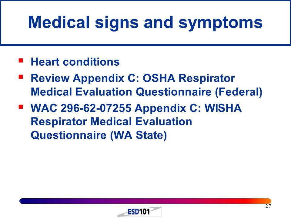 Respirator evaluation download questionnaire medical osha