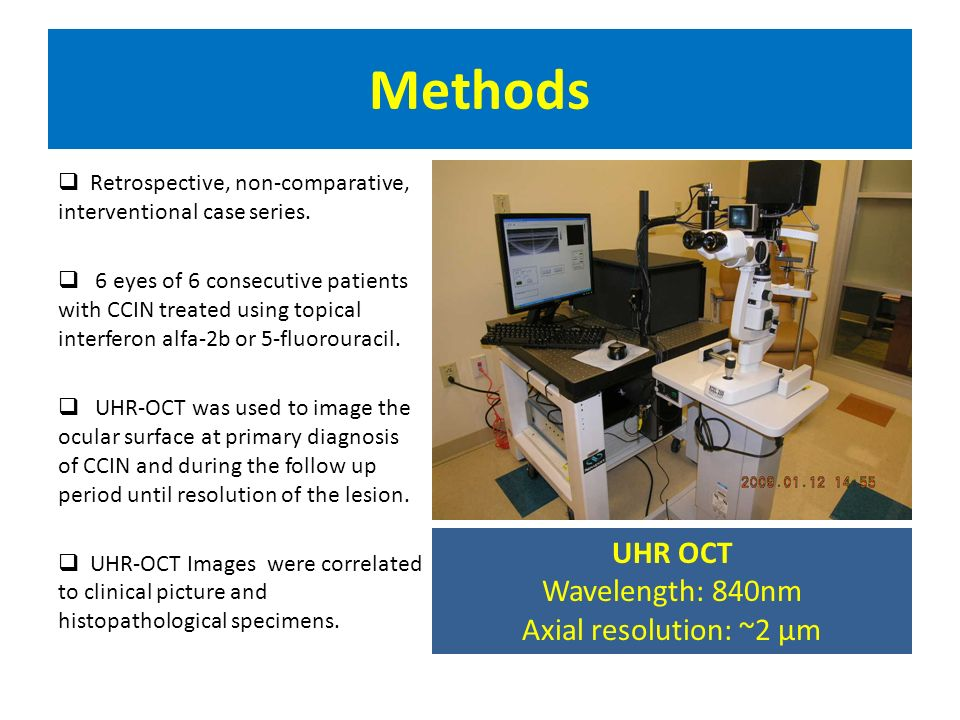 Methods  Retrospective, non-comparative, interventional case series.