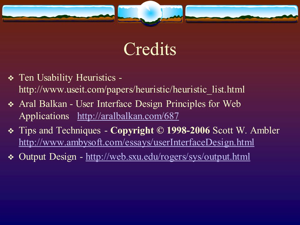 User Interface Design Trisha Cummings Ten Usability Heuristics These Are Ten General Principles For User Interface Design They Are Called Heuristics Ppt Download